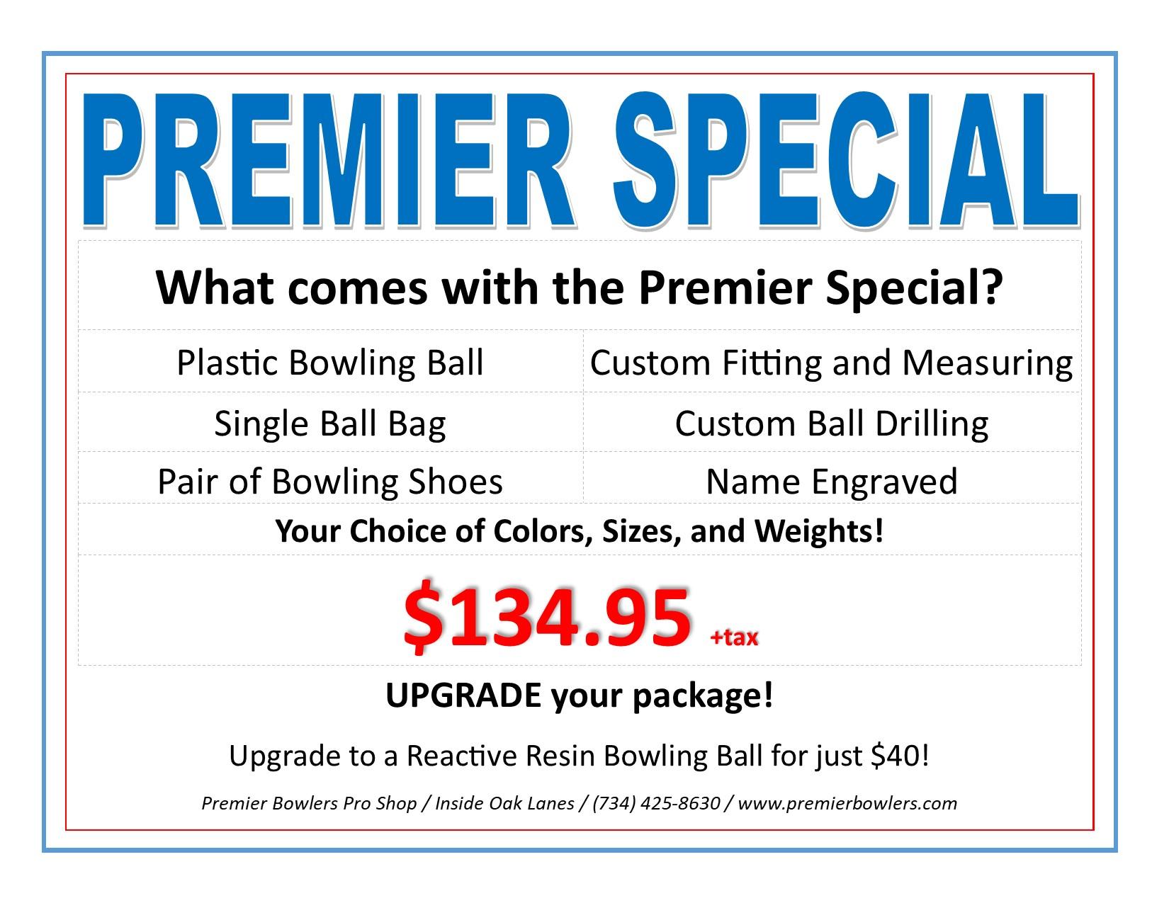 Metro Detroit Pro Shop, Premier Bowling Lessons, Coaching